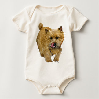 Norwich Terrier Baby Bodysuits