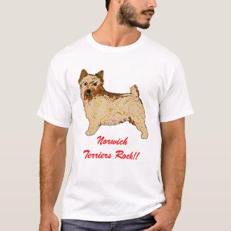 Norwich Terrier - Body left T-Shirt