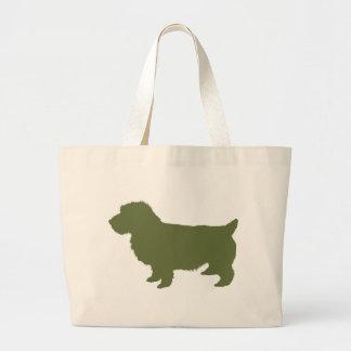 Norwich Terrier Bolsa Tela Grande