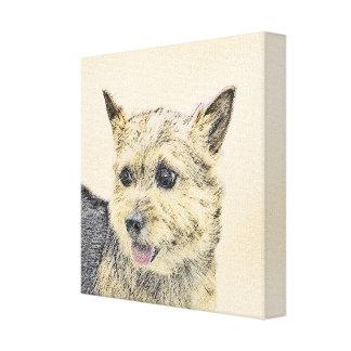 Norwich Terrier Canvas Print