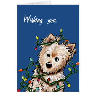 Norwich Terrier Christmas Cards