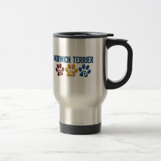 NORWICH TERRIER Dad Paw Print 1 Coffee Mug