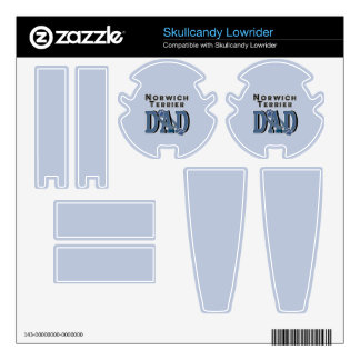 Norwich Terrier DAD Decal For Skullcandy
