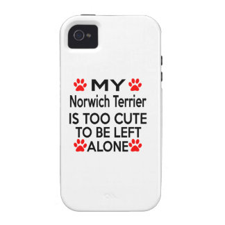 Norwich Terrier Designs Vibe iPhone 4 Case