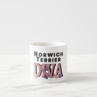 Norwich Terrier DIVA Espresso Mug