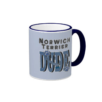 Norwich Terrier DUDE Mugs