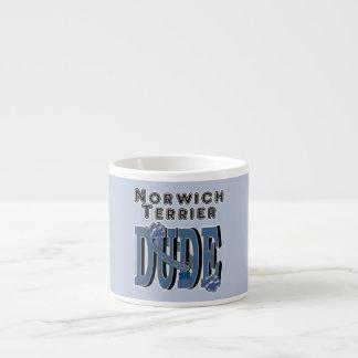 Norwich Terrier DUDE Espresso Cups