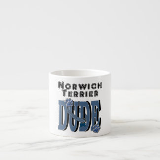Norwich Terrier DUDE Espresso Cup