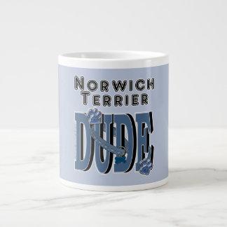 Norwich Terrier DUDE Jumbo Mug