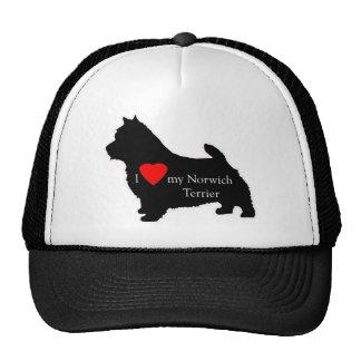 Norwich Terrier Gorros Bordados