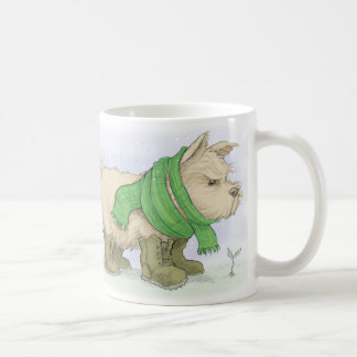 Norwich terrier in March Classic White Coffee Mug