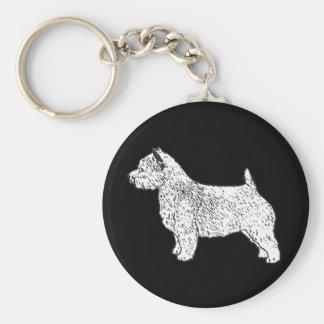 norwich_terrier key chains