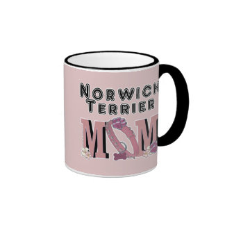 Norwich Terrier MOM Mugs