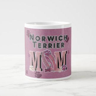 Norwich Terrier MOM Jumbo Mugs