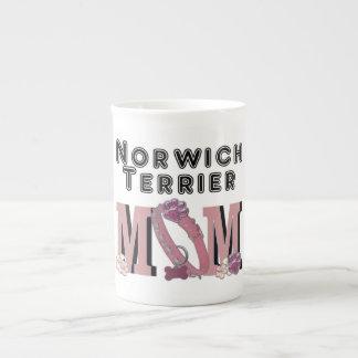 Norwich Terrier MOM Porcelain Mug