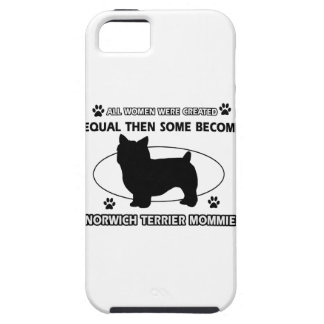Norwich Terrier Mommy Designs iPhone 5 Covers