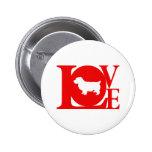 Norwich Terrier Pinback Button