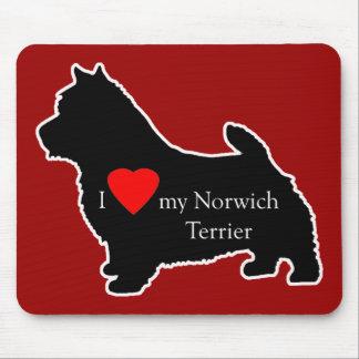 Norwich Terrier Tapete De Ratón