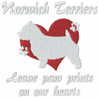 Norwich Terriers Leave Paw Prints