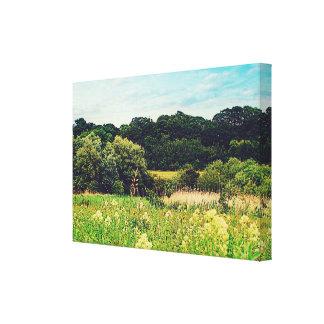 Norwich Walks.. Canvas Print