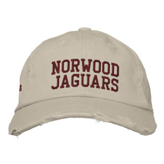 Norwood Jaguars Embroidered Baseball Cap