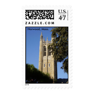 Norwood, Mass. Bell Tower Postage Stamp