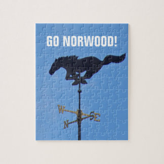 Norwood Mustangs 8x10 Photo Puzzle with Box