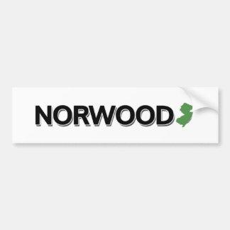 Norwood, New Jersey Bumper Sticker