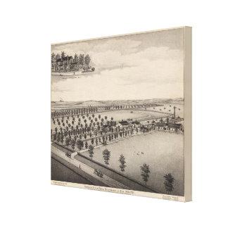 Norwood Stock Farm, Kansas Canvas Print