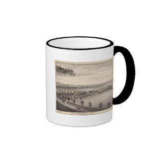 Norwood Stock Farm, Kansas Ringer Coffee Mug