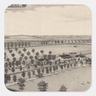 Norwood Stock Farm, Kansas Square Sticker
