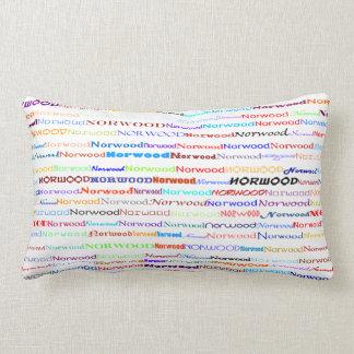 Norwood Text Design II Lumbar Pillow