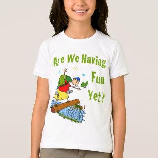 ¿Nos divertimos todavía? La camiseta del niño