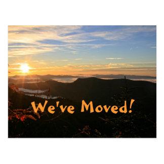¡Nos hemos movido! Cambio de dirección de la Tarjetas Postales