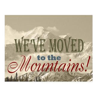 ¡Nos hemos trasladado a las montañas!  Dirección Postal