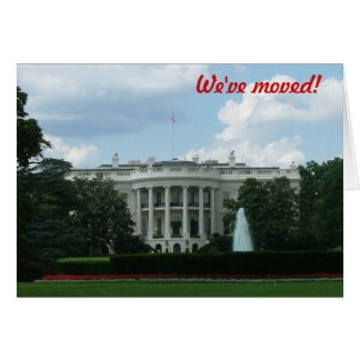 Nos hemos trasladado - al Washington DC Tarjetón
