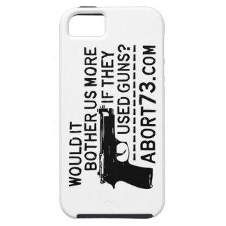 ¿Nos molestaría más si utilizaron los armas? Abort iPhone 5 Case-Mate Protectores