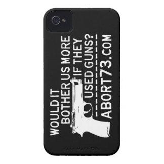 ¿Nos molestaría más si utilizaron los armas? Abort iPhone 4 Case-Mate Protector