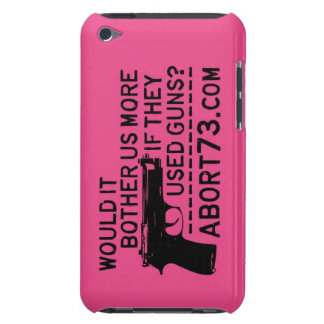 ¿Nos molestaría más si utilizaron los armas? Abort Case-Mate iPod Touch Carcasas