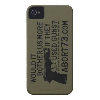 ¿Nos molestaría más si utilizaron los armas? Abort iPhone 4 Funda