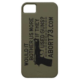 ¿Nos molestaría más si utilizaron los armas? Abort iPhone 5 Funda