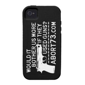 ¿Nos molestaría más si utilizaron los armas? iPhone 4 Carcasas