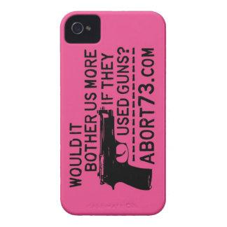 ¿Nos molestaría más si utilizaron los armas? Case-Mate iPhone 4 Cobertura
