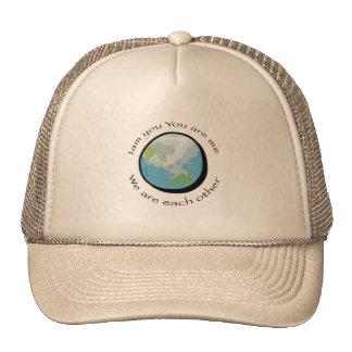 Nos somos (la tierra) gorras de camionero