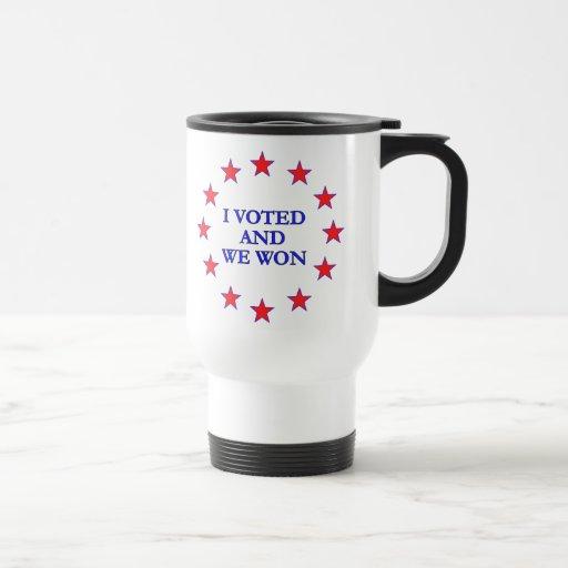 Nos voté gané tazas de café