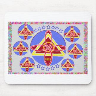 NOSA - Arte del símbolo de Karuna REIKI de Navin J Alfombrillas De Ratón