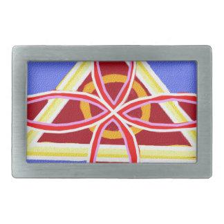 NOSA Karuna Reiki Healing Symbol Graphic Art Rectangular Belt Buckle
