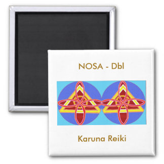 NOSA Karuna Reiki 2 Inch Square Magnet