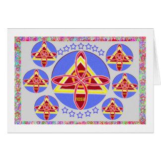 NOSA - Karuna REIKI symbol art by Navin Joshi Cards