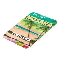 Nosara Costa Rican travel poster Magnet